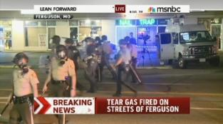 ferguson teargas-missouri-protests